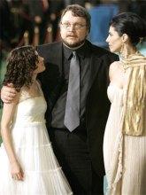 Ivana Baquero, Guillermo Del Toro y MaribelVerdú