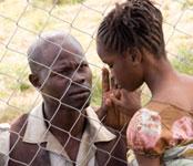 Djimon Hounsou y suhija